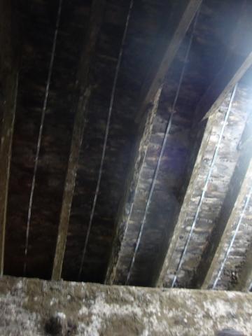 熟成庫の屋根には
