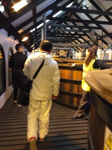 発酵槽の部屋